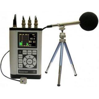 Шумомер, виброметр, анализатор спектра АССИСТЕНТ TOTAL (SIU V3RT)