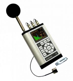 Шумомер, виброметр, анализатор спектра АССИСТЕНТ SIU V1