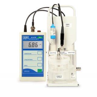 МАРК-901/1 pH-метр/милливольтметр портативный (с раздельными электродами)