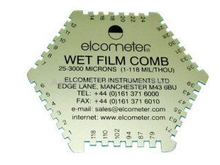 Гексагональная гребенка Elcometer 112AL