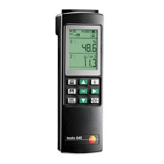 Testo 645 термогигрометр промышленный