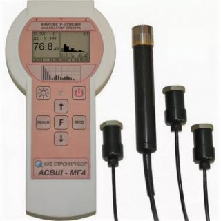 Шумомер, виброметр, анализатор спектра АСВШ-МГ4