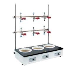 ES-4110-3 колбонагреватель 3-х местный, T до +450 °С, 1000 мл