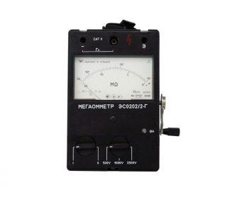 ЭС0202/2Г Мегаомметр