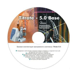 Titrate-5.0 Кислотность-К2 программное обеспечение