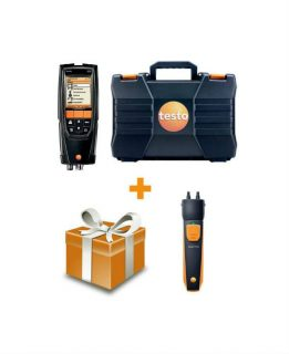 Testo 320 без H2-компенсации газоанализатор + testo 510i смарт-зонд (комплект)