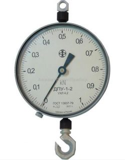 Динамометр растяжения механический ДПУ-1-2
