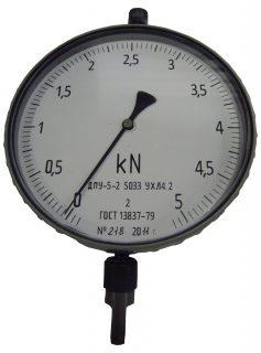 Динамометр растяжения механический ДПУ-5-2