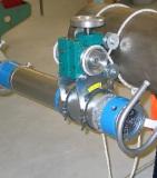 Каретка для установки аппарата РПД-200 на трубы