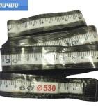 Пояс мерительный со свинцовыми цифрами