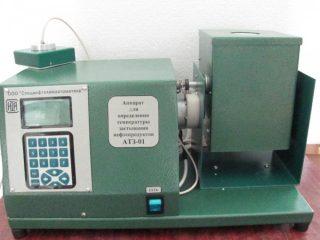 Аппарат для определения температуры застывания нефтепродуктов АТЗ-01 (ГОСТ 20287 метод Б)