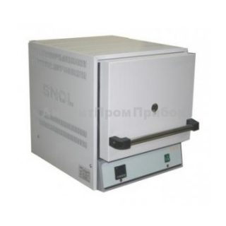 SNOL 22/1100 муфельная печь (терморегулятор программируемый; 22 л)