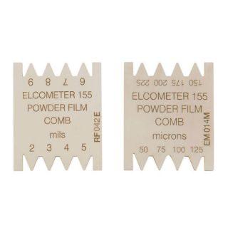 Elcometer 155 гребенка для измерения неполимеризованного порошкового покрытия