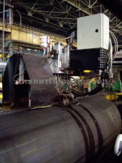 УНИСКАН-ЛуЧ ПШ -10 Автоматизированная система ультразвукового контроля продольных сварных швов труб среднего и большого диаметра САУЗК