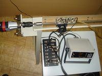 Установка ПАУЗК для контроля тонкостенных труб малого диаметра