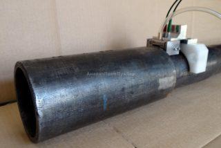 Преобразователи для УЗК муфтовой части бурильной трубы