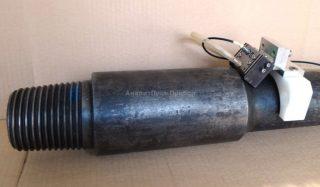 Преобразователи для УЗК ниппельной части бурильной трубы