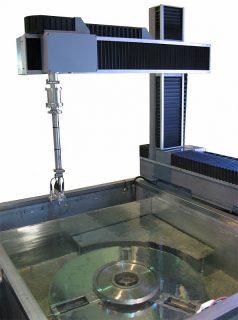 УКД-3М Автоматизированная многоканальная система ультразвукового контроля дисков диаметром до  800 мм