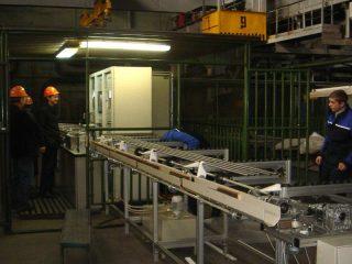 УСКТ-2 Автоматизированная установка ультразвукового контроля особотонкостенных бесшовных труб