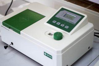 ПЭ-5300ВИ спектрофотометр с держателем 4-х кювет