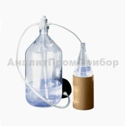 ПЭ-3000 перекачивающая система для агрессивных жидкостей с ножным насосом