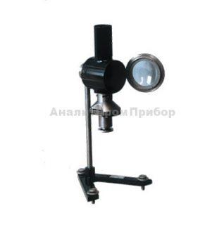 Аппарат для определения максимальной высоты некоптящего пламени ЛВП-М