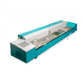 ЛинтеЛ ДБ-20-100 аппарат автоматический для определения дуктильности и усилия при растяжении битумов со встроенным термокриостатом