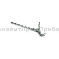 Держатель для пробирок и термометров с прижимным механизмом, 0-25 мм