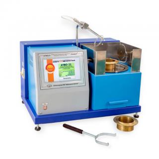 ЛинтеЛ АТВО-21 аппарат автоматический для определения температуры вспышки в открытом тигле с газовым поджигом