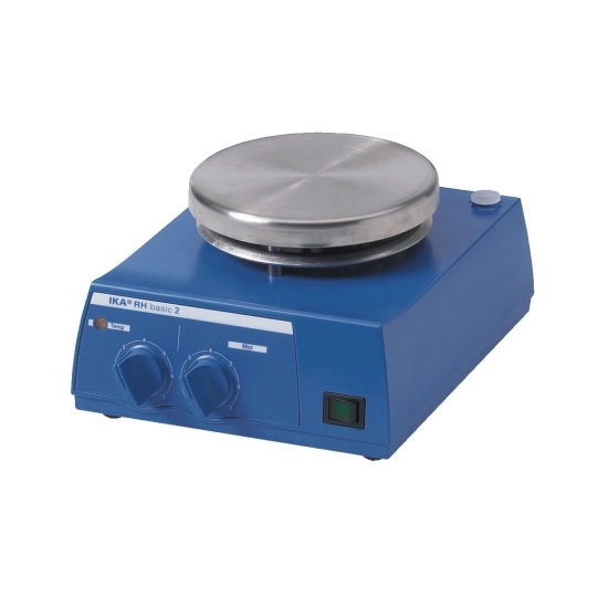 Магнитная мешалка с подогревом RH basic 2 (2000 об/мин)