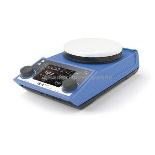 Магнитная мешалка с подогревом RET control-visc white (1700 об/мин)