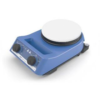 Магнитная мешалка с подогревом RH basic white (2000 об/мин)
