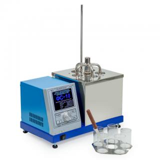 ФС-10К ЛинтеЛ аппарат для определения фактических смол в топливах методом выпаривания струей