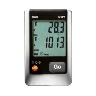 Testo 176 P1 логгер данных давления, температуры и влажности