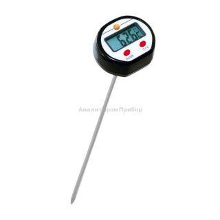Мини-термометр проникающий с удлиненным измерительным наконечником Testo