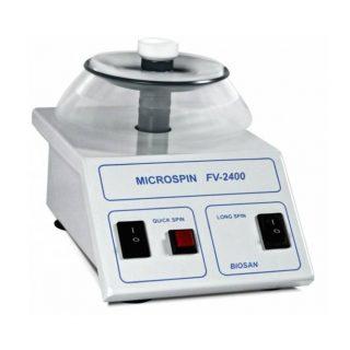 Мини центрифуга-вортекс Микроспин FV-2400 (2800 об/мин)