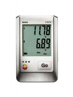 Testo 176 T2 логгер данных температуры