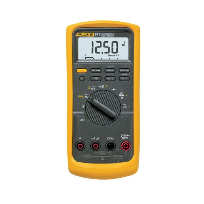 Мультиметр цифровой Fluke 88V/A (Автомобильный комбинированный комплект)