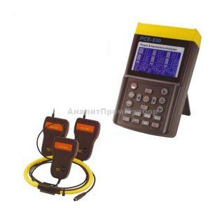 Анализатор качества электроэнергии PCE-830 + гибкие клещи PCE-3007 (3000A)