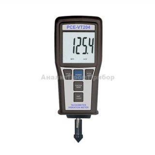 PCE VT 204 виброметр с функцией тахометра