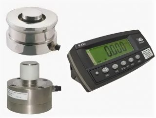 Динамометр сжатия электронный ДЭП3-1Д-2С-2
