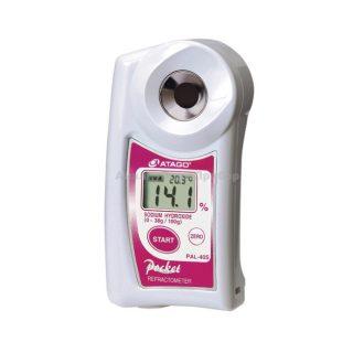 Рефрактометр для гидроксида натрия PAL-40S (0…38%)