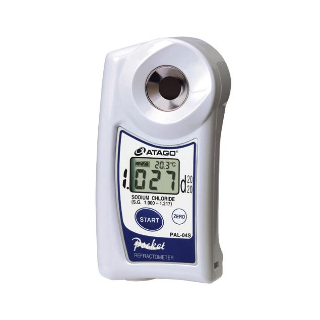 Рефрактометр для измерения солености PAL-04S (удельный вес)