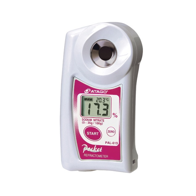 Рефрактометр для нитрата натрия PAL-61S (0…35%)