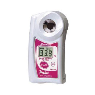 Рефрактометр для нитрата серебра PAL-60S (0…35%)