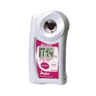 Рефрактометр для тартрата натрия PAL-65S (0…25%)
