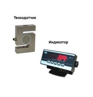 Динамометр сжатия электронный ДЭП1-1Д-5С-2