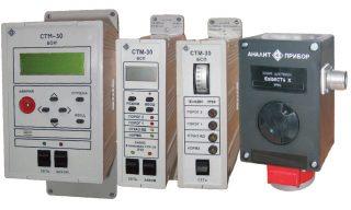 Микропроцессорная газоаналитическая система СТМ-30