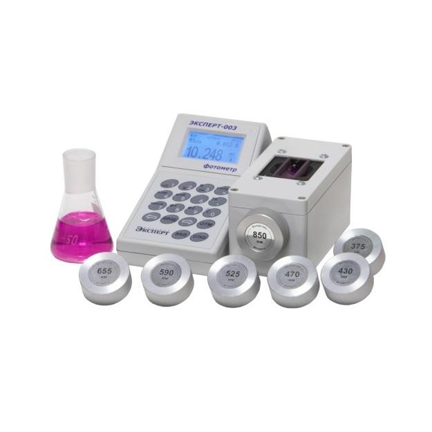 Эксперт-003 Комплект №1 «Активный хлор» (для питьевой воды) фотометр