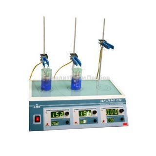 Лабораторная электролизная установка для анализа металлов ЭЛАМ-01